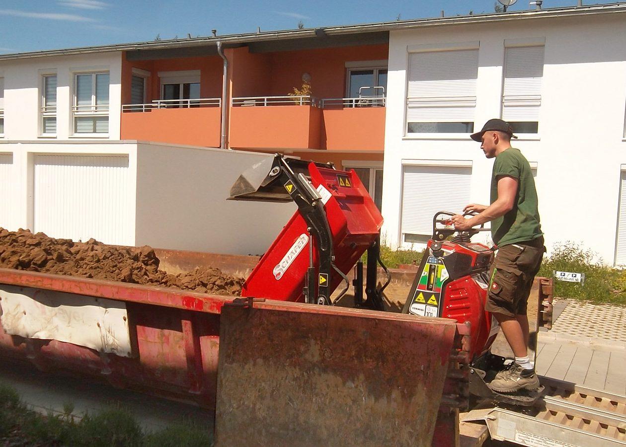 Greenkeepers Gartenbau - Erdarbeiten